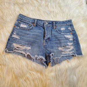 🔥 American Eagle Cutoff Jean Shorts Size 8